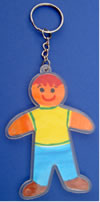 Design a person keyring